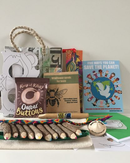 Plastic Free Party Bags Fairtrade party bags