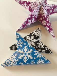 Plastic Free Party Bags Christmas Stars