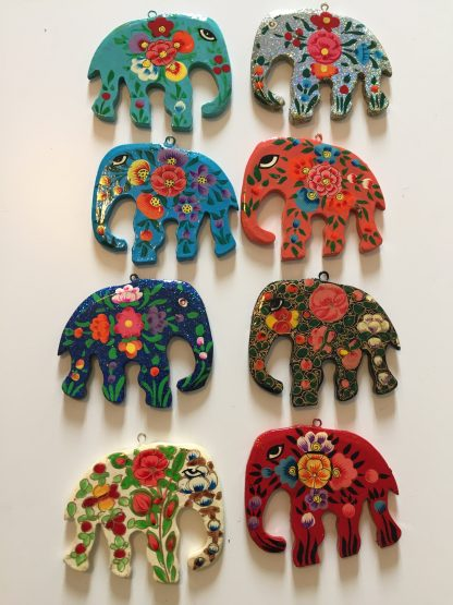 Plastic Free Party Bags Christmas Elephant Decorations
