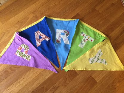 fairtrade plasticfree bunting plastic free party bags