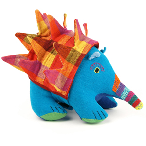 plastic free soft toy fairtrade