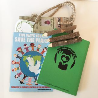 plastic free eco party bag