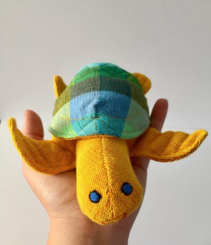 plastic free soft toy kapok