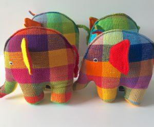 fairtrade kapok elephant toy
