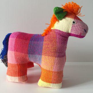 fairtrade kapok pony toy orginial gift plastic free christmas gift