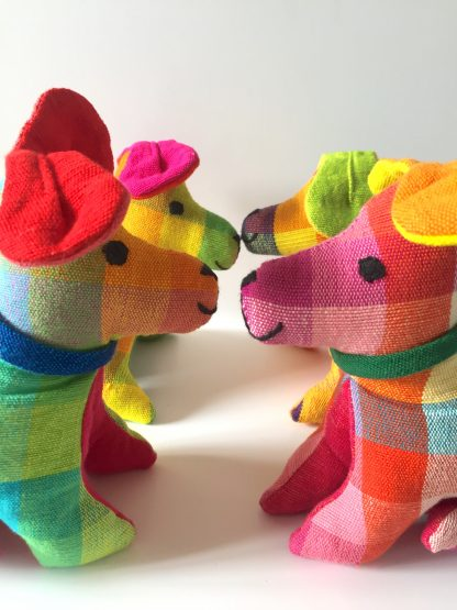 kapok toy puppy fairtrade plastic free toy