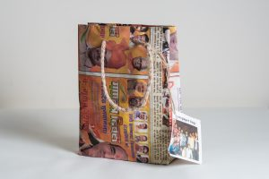 plastic free party bags newspaper bags