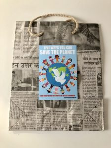 plastic free party bags vegan