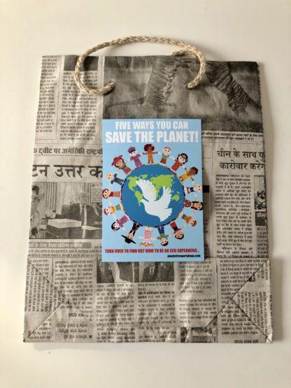 plastic free party bags vegan