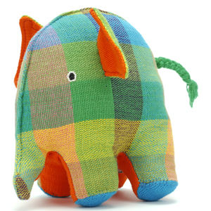 plastic free elephant toy