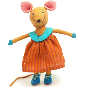 Mouse toy fairtrade