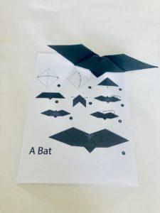 bat origami