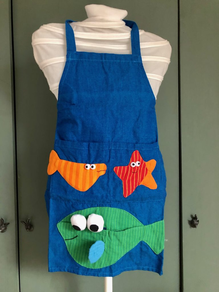 Fairtrade plastic free childrens apron