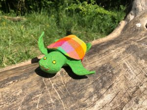 plastic free turle toy