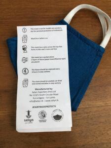 Fairtrade cotton facemask