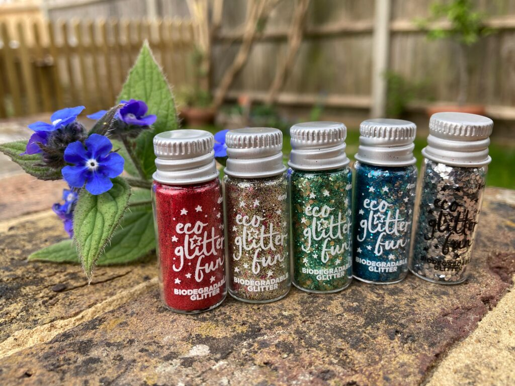 party bag glitter