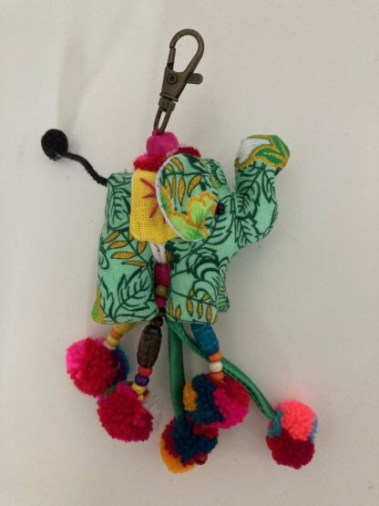 elephant bag charm