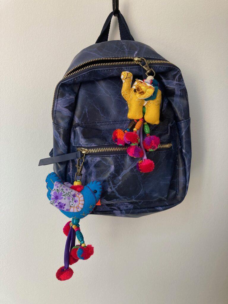 fairtrade bag charm